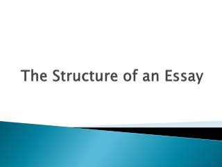 An english essay introduction